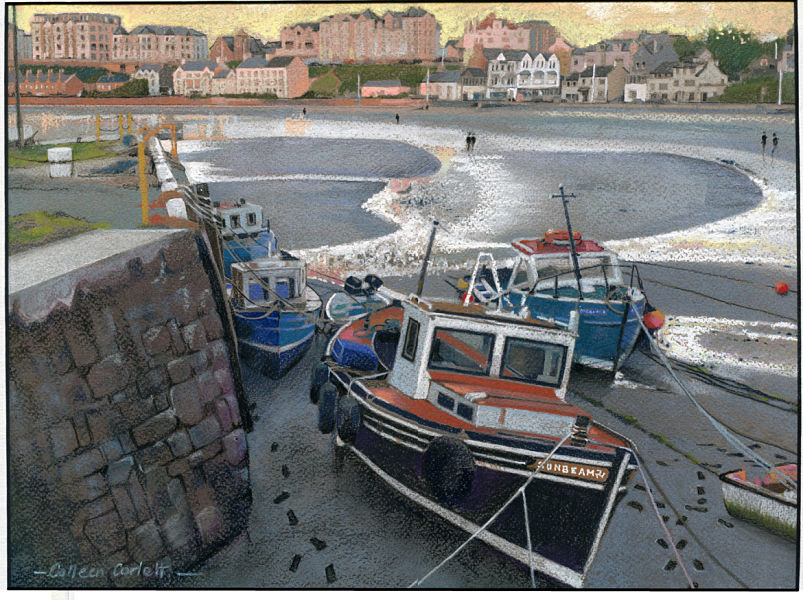 Colleen Corlett-Port Erin boats