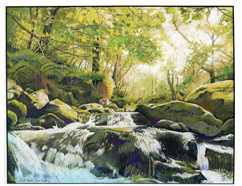 colleen-corlett-pastel waterfall print small